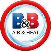 B&B Air & Heat Logo